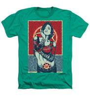 Rubino Mandala Woman Cool - Heathers T-Shirt