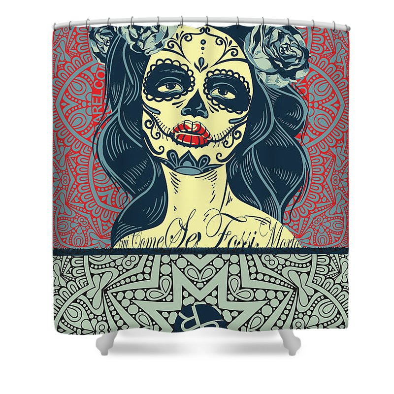 Rubino Morto - Shower Curtain