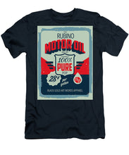 Rubino Motor Oil 2 - Men's T-Shirt (Athletic Fit)