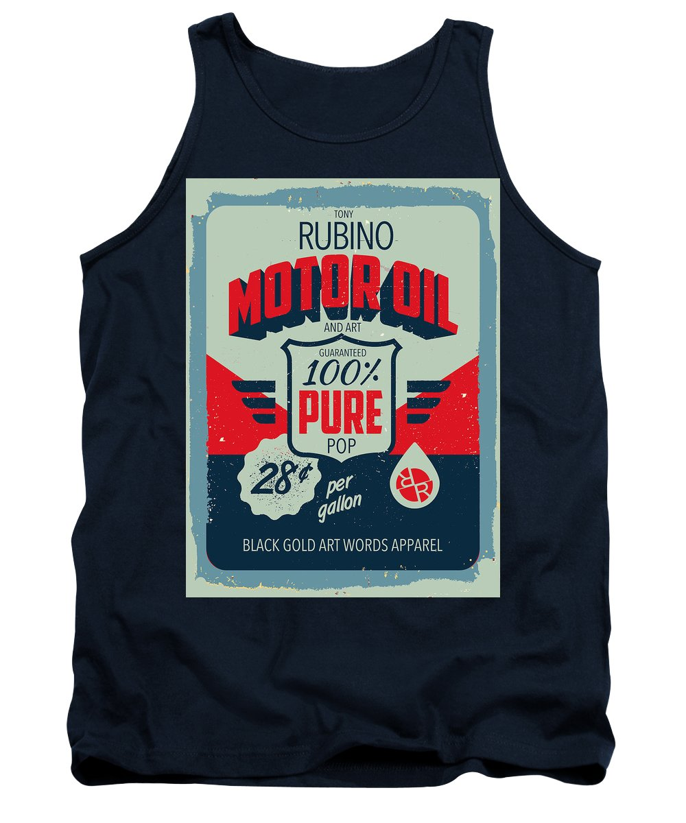 Rubino Motor Oil 2 - Tank Top