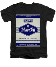 Rubino Motor Oil - Men's V-Neck T-Shirt