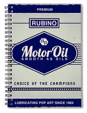Rubino Motor Oil - Spiral Notebook