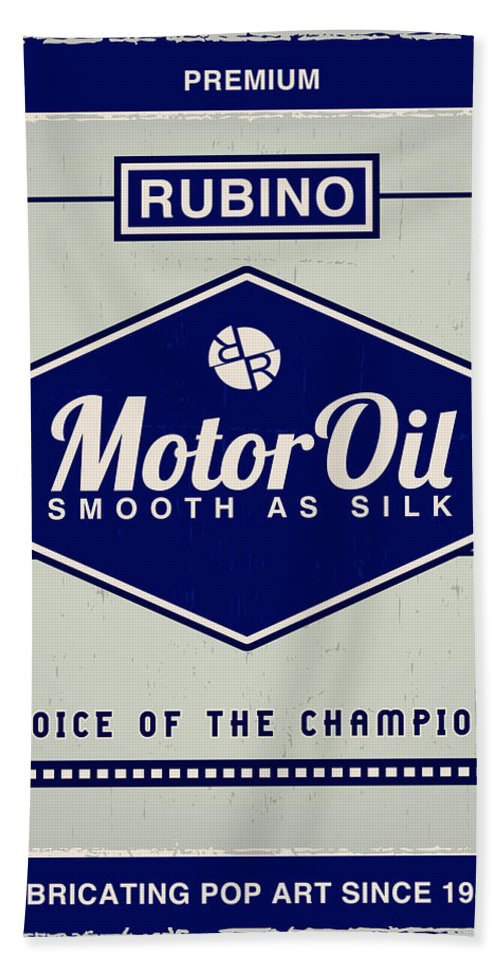 Rubino Motor Oil - Beach Towel