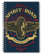 Rubino Motorcycle And Scooters - Spiral Notebook