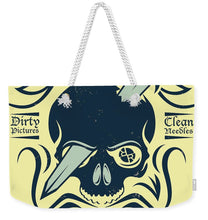 Rubino Motorcycle And Tattoo Skull - Weekender Tote Bag