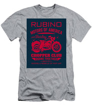 Rubino Motorcycle Club - Men's T-Shirt (Athletic Fit)
