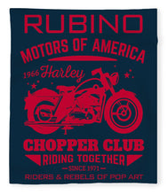 Rubino Motorcycle Club - Blanket