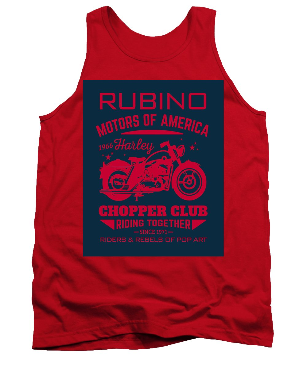 Rubino Motorcycle Club - Tank Top