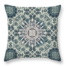 Rubino Order From Chaos Blades - Throw Pillow