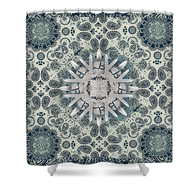 Rubino Order From Chaos Blades - Shower Curtain