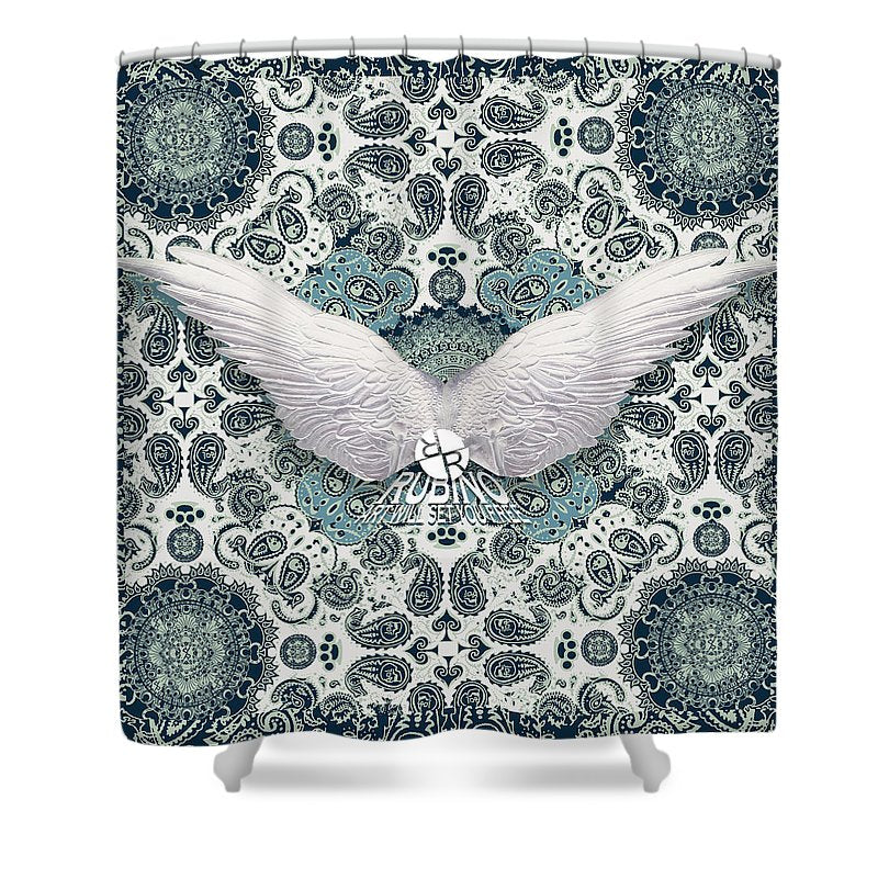 Rubino Order From Chaos Wings - Shower Curtain