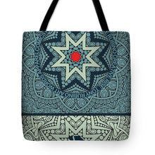 Rubino Outline Mandala - Tote Bag