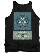 Rubino Outline Mandala - Tank Top