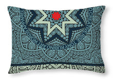 Rubino Outline Mandala - Throw Pillow