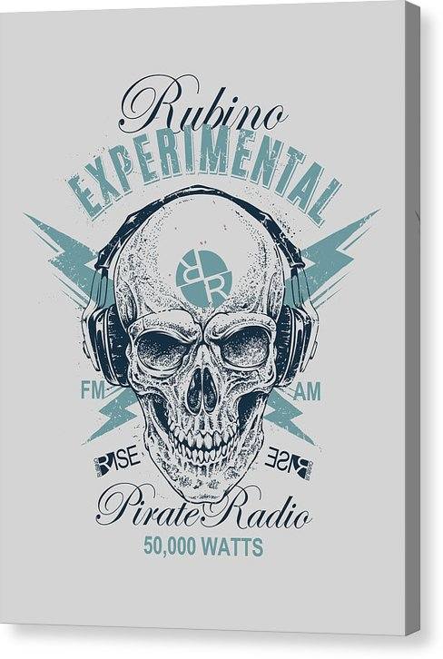 Rubino Radio - Canvas Print