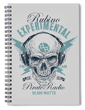 Rubino Radio - Spiral Notebook