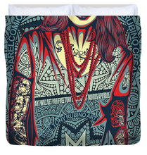 Rubino Red Lady - Duvet Cover