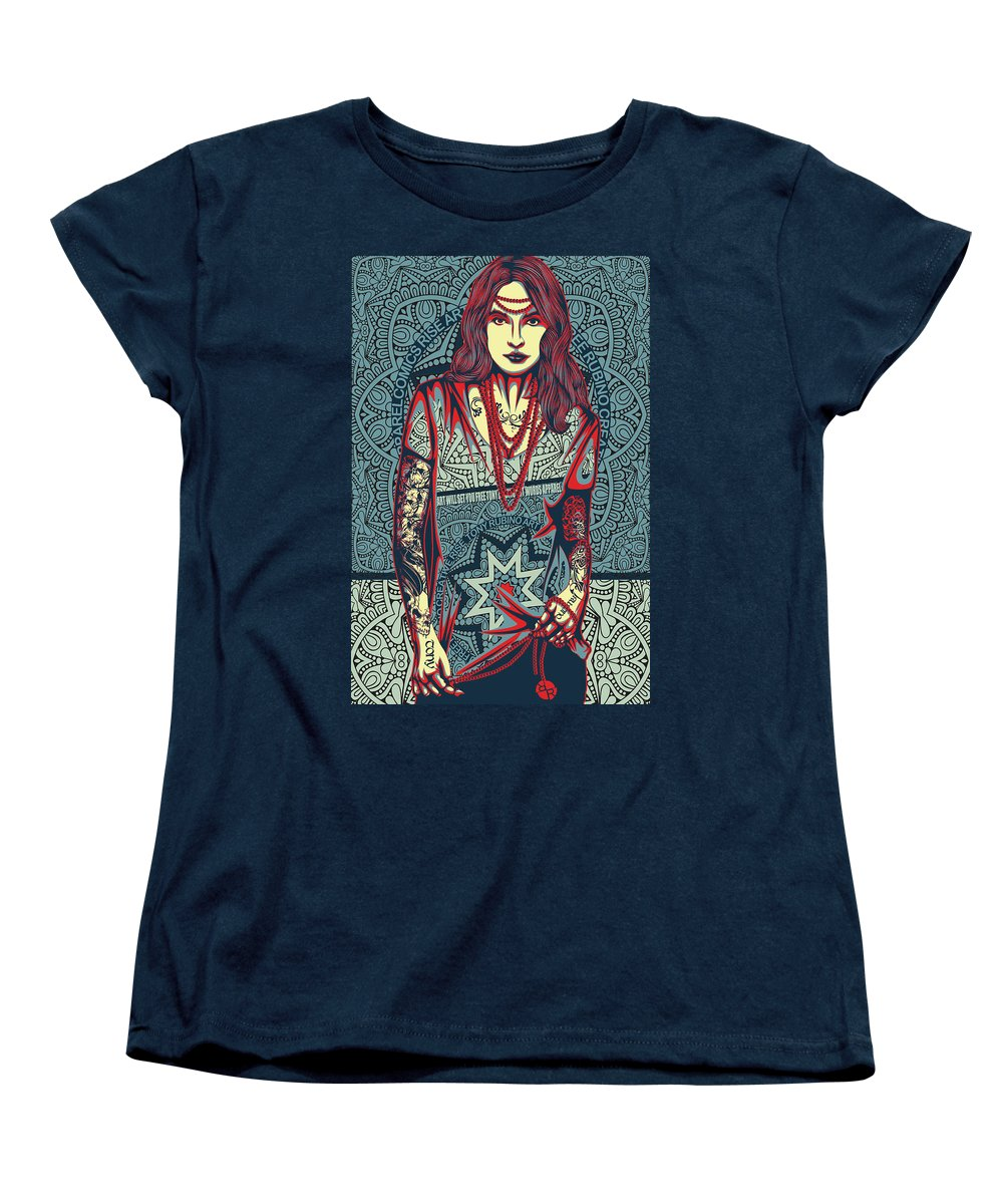 Rubino Red Lady - Women's T-Shirt (Standard Fit)