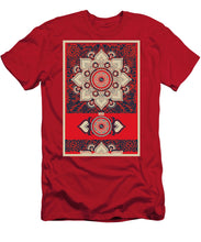 Rubino Red Zen Namaste - Men's T-Shirt (Athletic Fit)