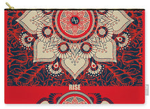 Rubino Red Zen Namaste - Carry-All Pouch