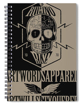 Rubino Rise Ride - Spiral Notebook