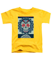 Rubino Rise Skull Reb Blue - Toddler T-Shirt