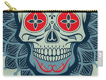 Rubino Rise Skull Reb Blue - Carry-All Pouch