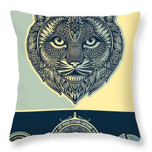 Rubino Spirit Cat - Throw Pillow