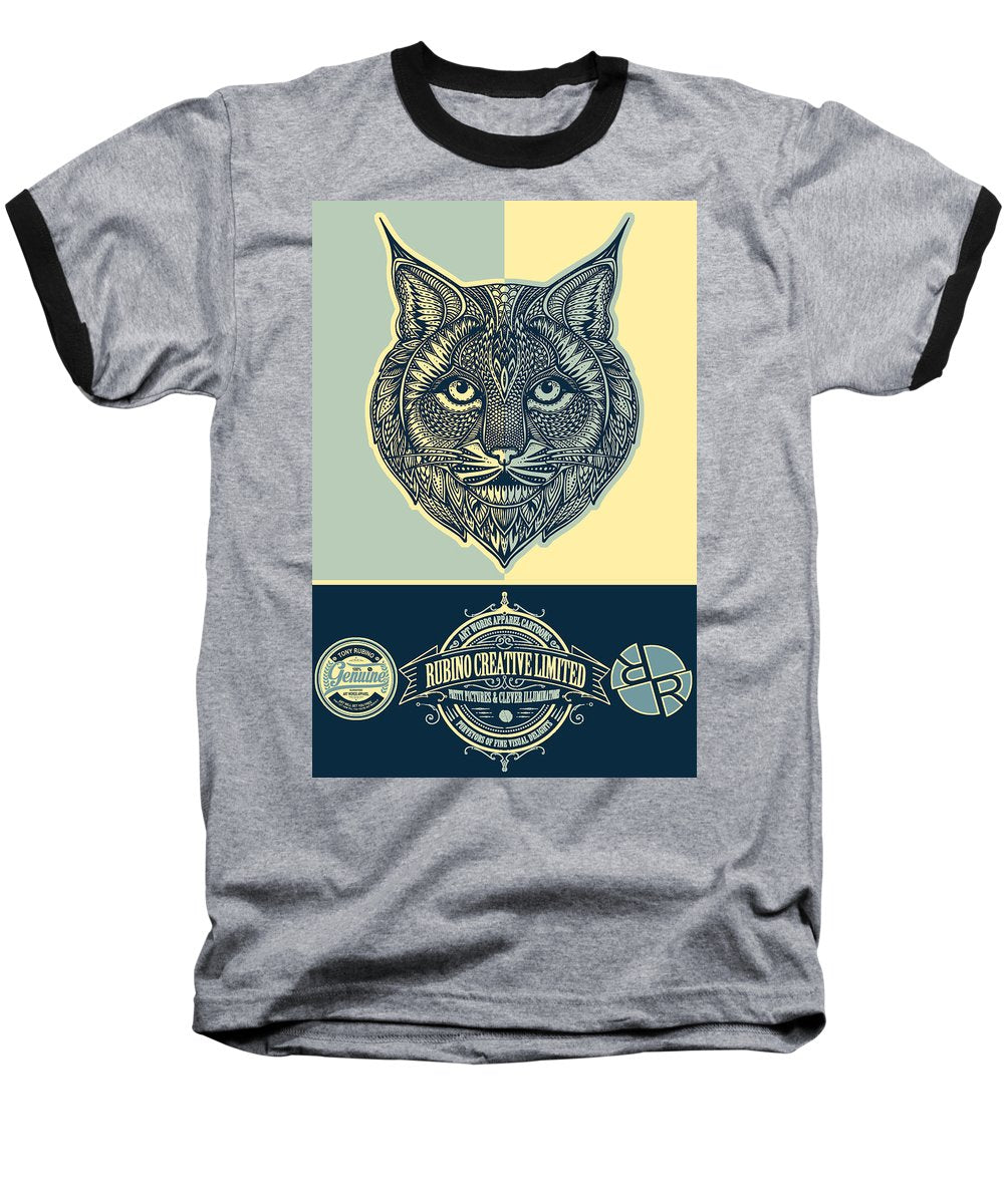 Rubino Spirit Cat - Baseball T-Shirt