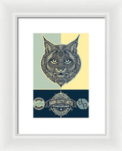 Rubino Spirit Cat - Framed Print