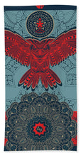 Rubino Spirit Owl - Beach Towel