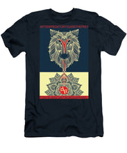 Rubino Spirit Wolf - Men's T-Shirt (Athletic Fit)