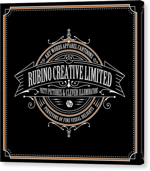 Rubino Vintage Sign - Canvas Print