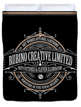Rubino Vintage Sign - Duvet Cover