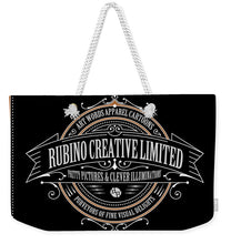Rubino Vintage Sign - Weekender Tote Bag