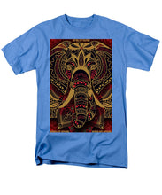 Rubino Zen Elephant Red - Men's T-Shirt  (Regular Fit)