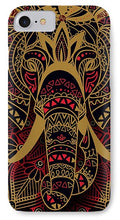 Rubino Zen Elephant Red - Phone Case