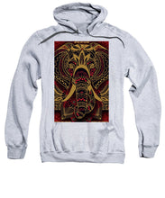 Rubino Zen Elephant Red - Sweatshirt