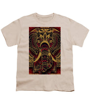 Rubino Zen Elephant Red - Youth T-Shirt