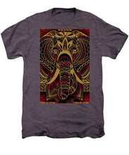 Rubino Zen Elephant Red - Men's Premium T-Shirt