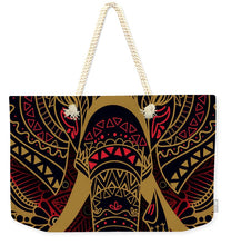 Rubino Zen Elephant Red - Weekender Tote Bag