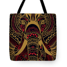 Rubino Zen Elephant Red - Tote Bag