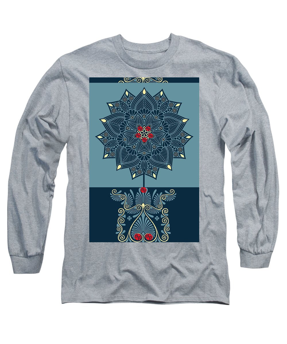 Rubino Zen Flower - Long Sleeve T-Shirt