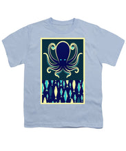 Rubino Zen Octopus Blue - Youth T-Shirt