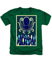 Rubino Zen Octopus Blue - Kids T-Shirt