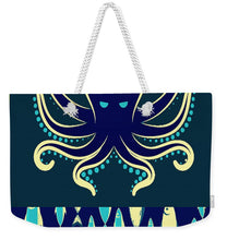 Rubino Zen Octopus Blue - Weekender Tote Bag