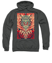 Rubino Zen Owl Red - Sweatshirt