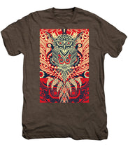 Rubino Zen Owl Red - Men's Premium T-Shirt