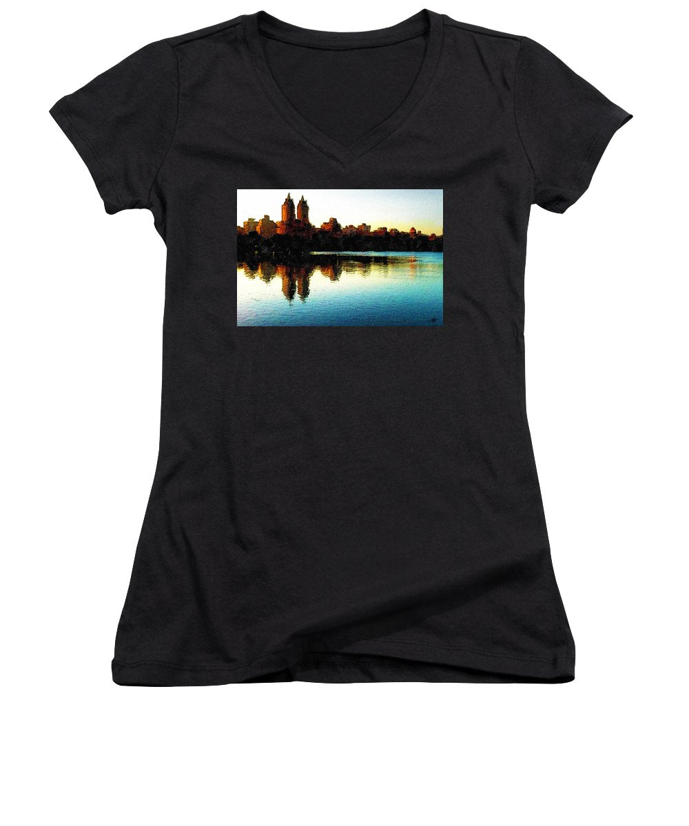 San Remo Nyc - Women's V-Neck (Athletic Fit)