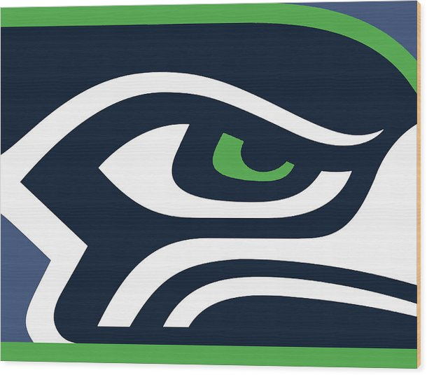 Seattle Seahawks - Wood Print